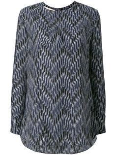 блузка с принтом зигзаг Marni