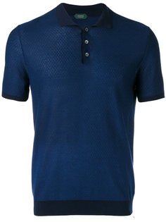 short-sleeve polo shirt  Zanone