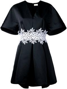 платье с вышивкой на поясе Sara Battaglia