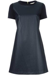 bi-texture T-shirt dress Michael Kors