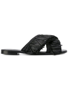 сандалии с бахромой Avec Modération