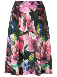 floral A-line skirt Isolda