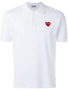 футболка-поло с вышитым логотипом Comme Des Garçons Play