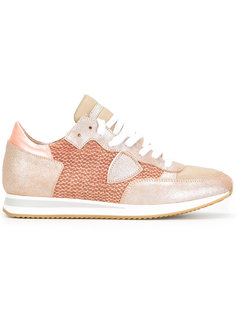 panelled lace-up sneakers Philippe Model