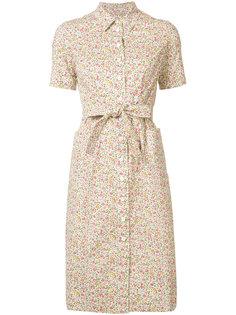 printed shirt dress Ines De La Fressange