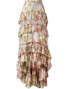 асимметричная юбка с оборками  Philosophy Di Lorenzo Serafini