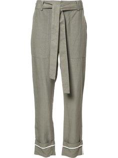 прямые брюки с поясом Derek Lam 10 Crosby