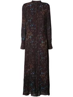 платье с цветочным принтом Josh Goot