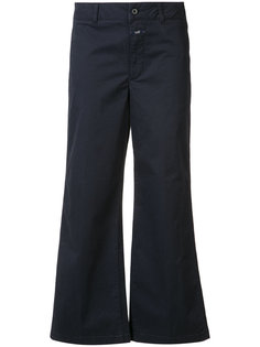 flared cropped trousers  Closed