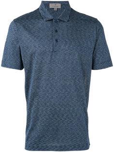 футболка-поло в полоску Canali
