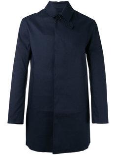 пальто с потайной застежкой на пуговицы Mackintosh