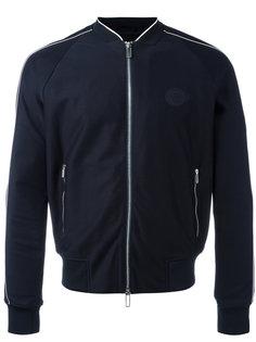 куртка-бомбер с молнией спереди Emporio Armani