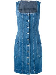 джинсовое платье без рукавов Stella McCartney