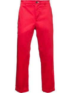 однотонные брюки чинос Loveless