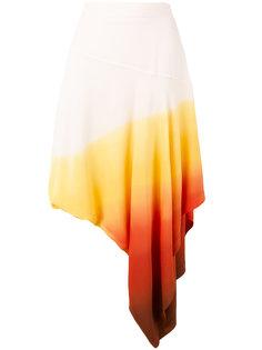 юбка с эффектом градиент J.W.Anderson