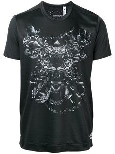 tiger print T-shirt Adidas By Kolor