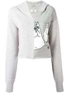 moomin print hoodie Aalto