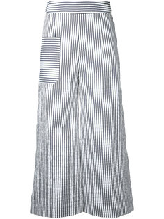 striped cropped trousers Eudon Choi