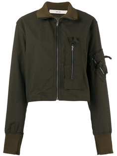 fitted bomber jacket Damir Doma