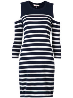 cold shoulder stripe dress Trina Turk