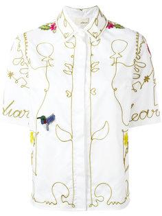 рубашка с вышивкой Elaidi