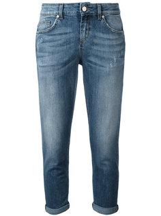 укороченные джинсы с отворотами LAutre Chose