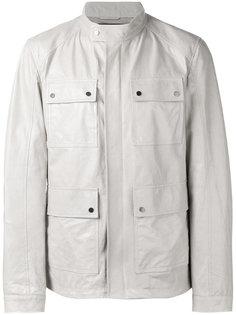 кожаная полевая куртка Drome