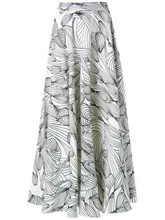 graphic print skirt Isolda