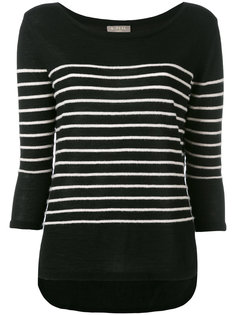 textured stripe jumper N.Peal