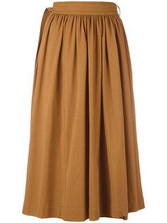 плиссированная юбка Lemaire