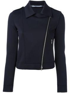 асимметричная байкерская куртка Harris Wharf London
