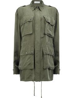 пальто свободного кроя в стиле милитари Faith Connexion