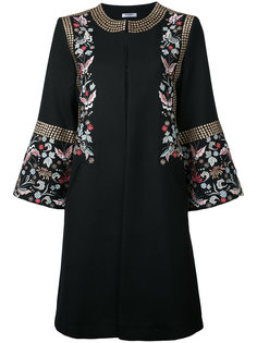 embroidered flower coat  Vilshenko