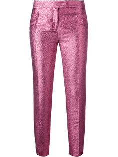 блестящие строгие брюки Christian Pellizzari