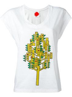 traffic light print T-shirt  Ultràchic