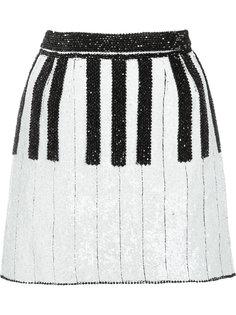 юбка в стиле пианино Dolce & Gabbana