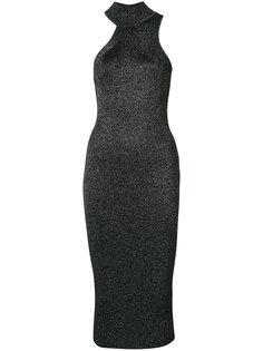 asymmetric halterneck dress Cushnie Et Ochs