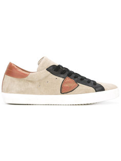 mixed panel lace-up sneakers Philippe Model