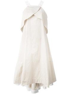 платье А-образного кроя Jil Sander Navy