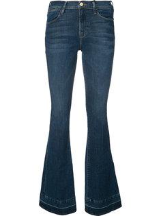 выбеленные расклешенные джинсы Frame Denim
