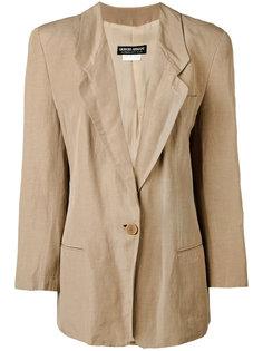 overiszed blazer Giorgio Armani Vintage