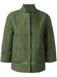 легкая куртка с вырезными деталями Ermanno Scervino