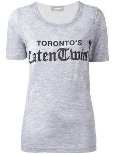 футболка Torontos Caten Twins Dsquared2