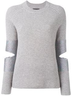 свитер с вырезными деталями Hubble Knit  Zoe Jordan