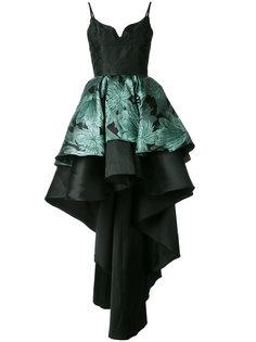 асимметричное многослойное платье Christian Pellizzari