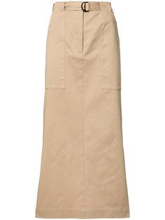 юбка с ремнем на талии Josh Goot