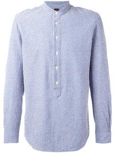 рубашка с вышивкой Mp  Massimo Piombo