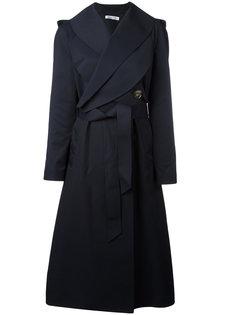 пальто с поясом J.W.Anderson