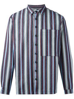 полосатая тканая рубашка Sunnei