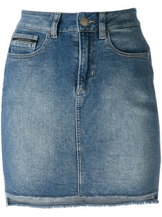 джинсовая юбка с завышенной талией Calvin Klein Jeans